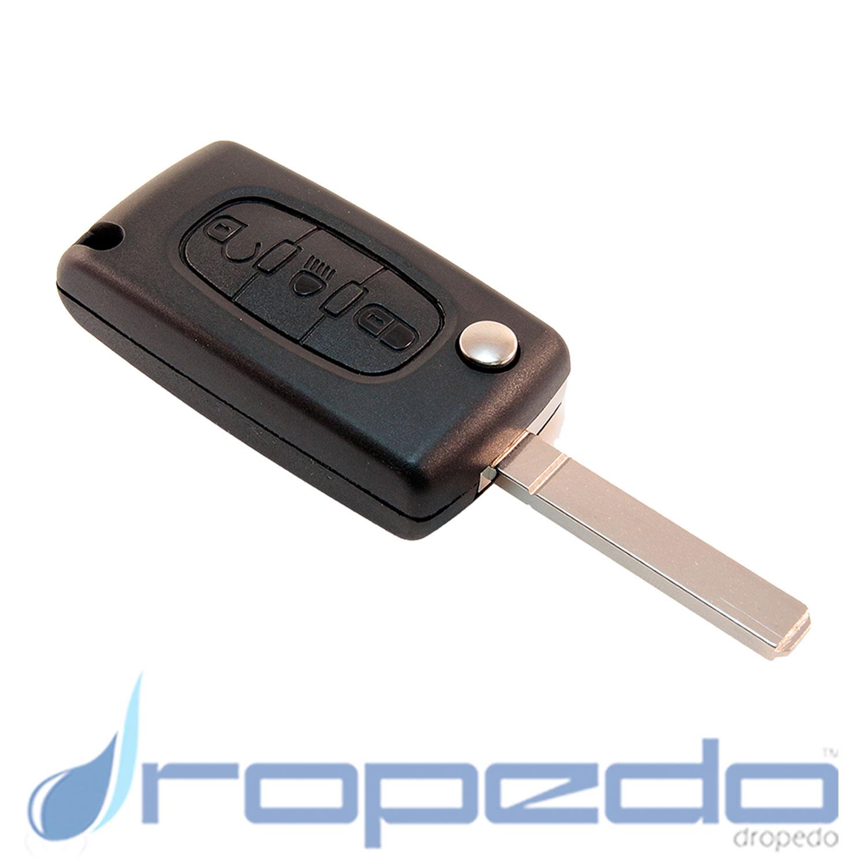 Autoschlüssel Gehäuse für Citroen Peugeot Variante 2