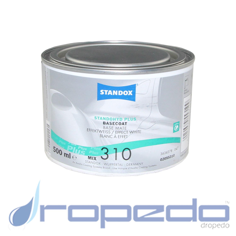 Standox Standohyd PLUS Basislack MIX 310 Effektweiss 0,5 L Dose