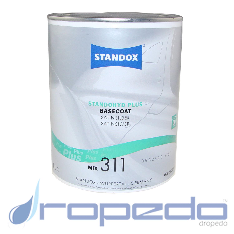 Standox Standohyd PLUS Basislack MIX 311 Satinsilber 1 L Dose
