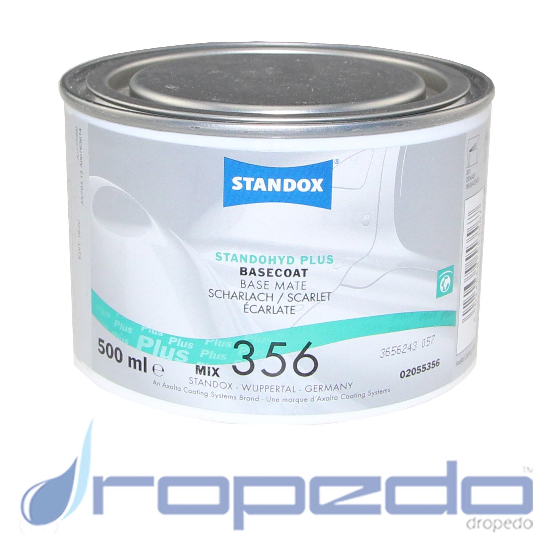 Standox Standohyd PLUS Basislack MIX 356 Scharlach 0,5 L Dose