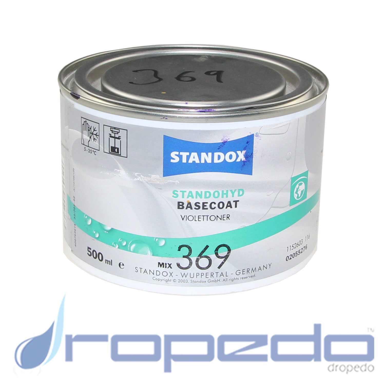 Standox Standohyd PLUS Basislack MIX 369 Violettoner 0,5 L Dose