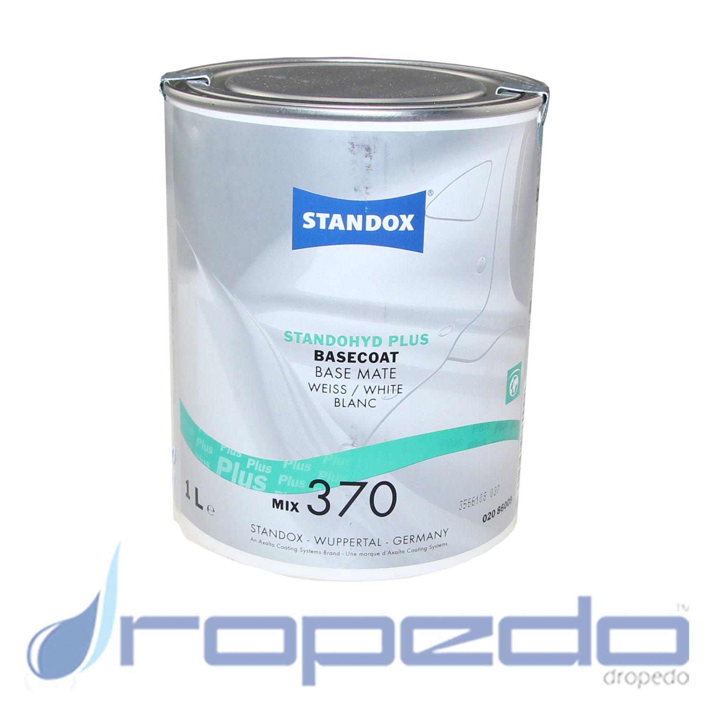 Standox Standohyd PLUS Basislack MIX 370 Weiß 1 L Dose