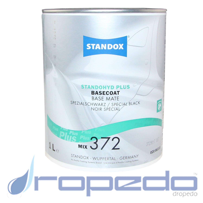 Standox Standohyd PLUS Basislack MIX 372 Spezialschwarz 1 L Dose