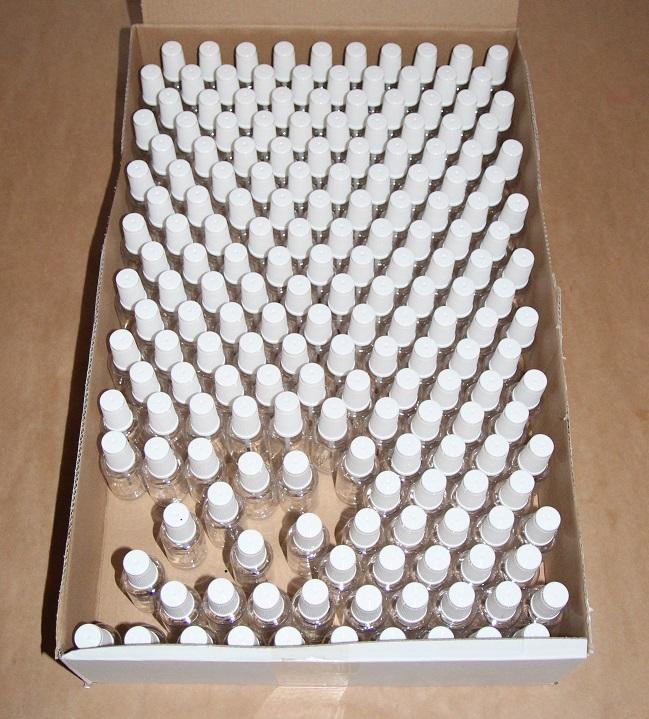 200x Pinselflaschen Lackflaschen für Autolacke