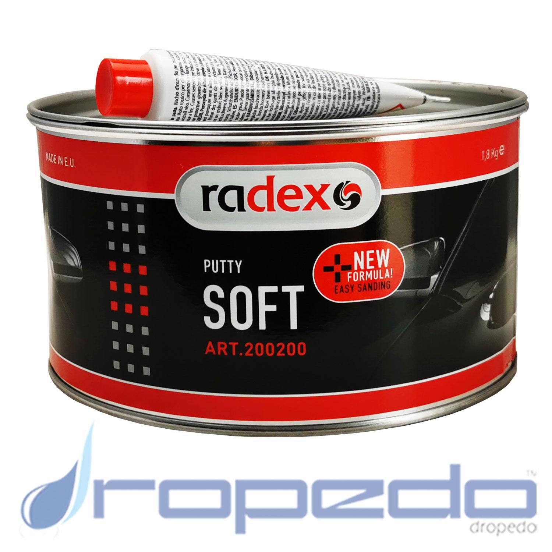 Radex Soft Spachtelmasse 1,8 kg + Härte